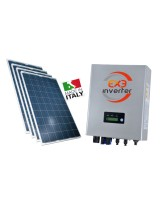 EXE SOLAR -  KIT PANNELLI FOTOVOLTAICI 4,5 KW - PANNELLI EXE SOLAR E INVERTER MONOFASE EXE SOLAR