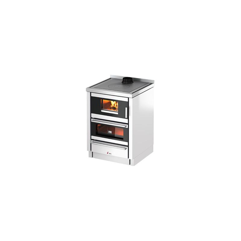 Cucina a legna Kook 60 6,7 Kw Ventilata   Cadel - Trentino Energie Shop