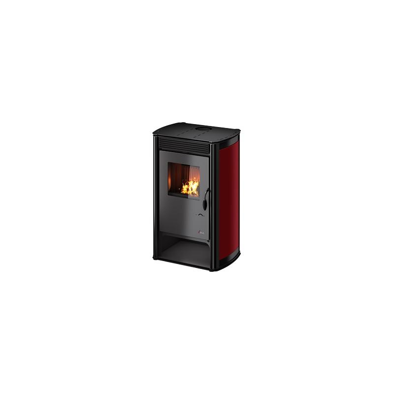 Stufa a legna Aurora 10,7 Kw Metallo | Cadel - Trentino Energie Shop