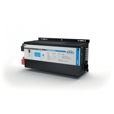 KERT - INVERTER AD ISOLA dc-ac - 12 Vdc – 1000 WATT – onda sinosuidale pura con caricabatterie integrato
